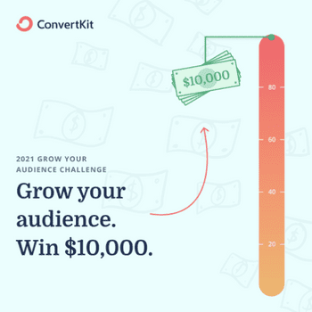 2021 Grow Your Audience Challenge