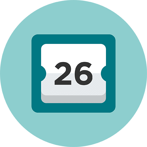 Calendario de Objeto