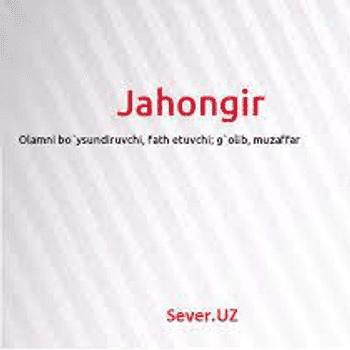 Jaxongir Usmonov Umid o'g'li