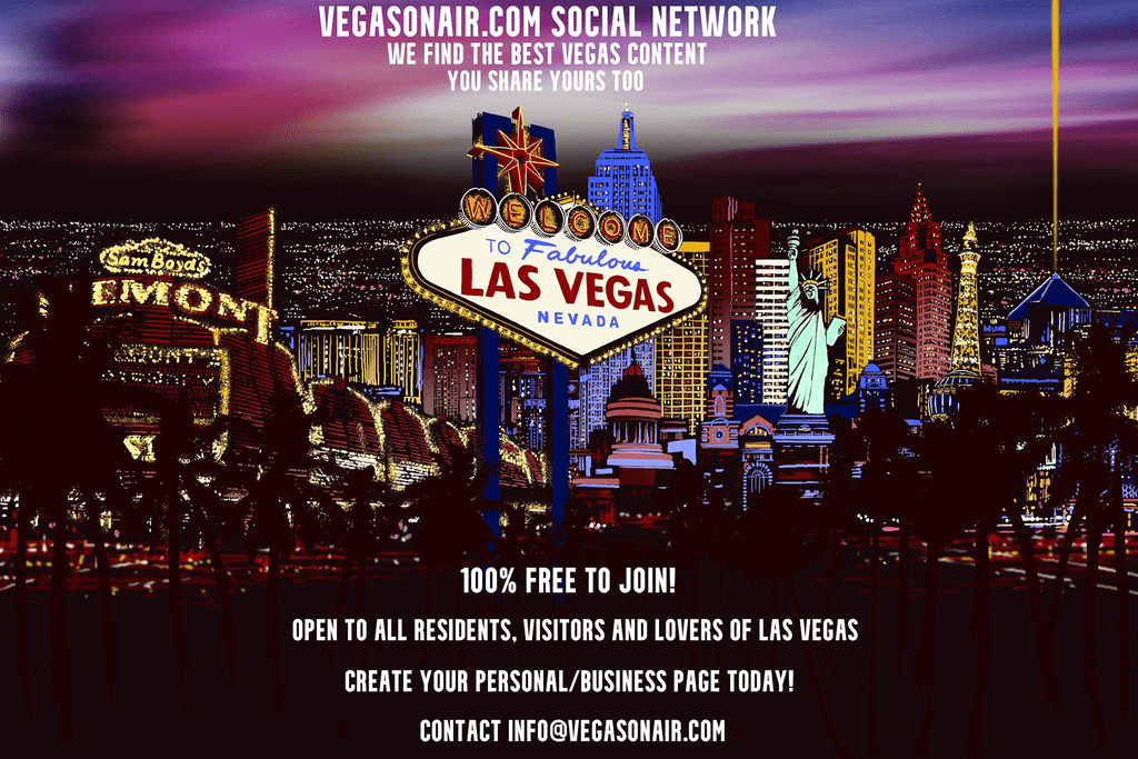 New Contest and April 2021 Newsletter: What is VegasOnAir.com?
