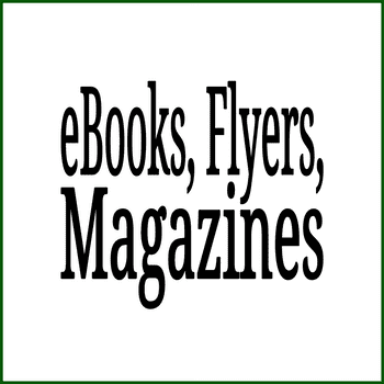 eBooks, Flyers and Magazines