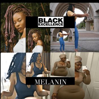 Beautiful Black Melanin Models